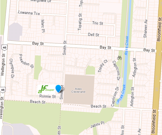 MAP 155 Smith St Cleveland